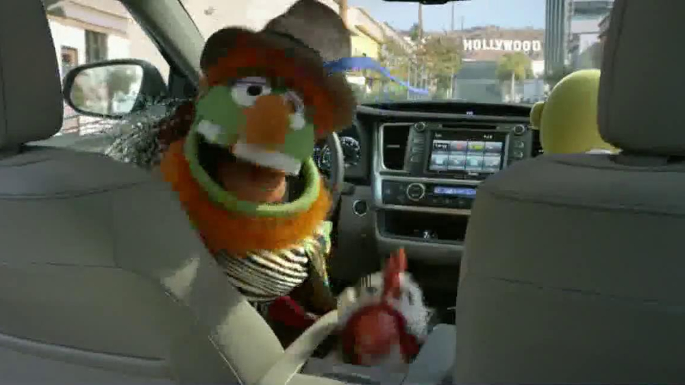 Toyota TV Spot, 'No Room for Boring' Featuring The Muppets - Screenshot 4