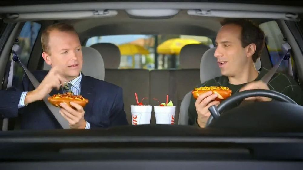 Sonic Drive-In Chili Cheese Pretzel Dog TV Spot , 'Merger'