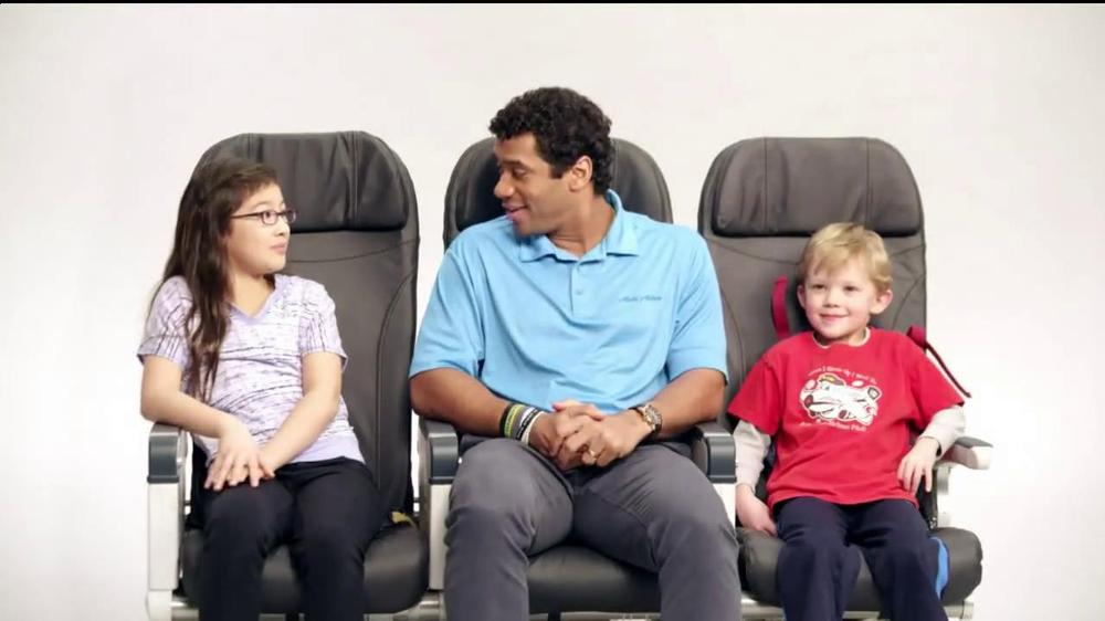 Alaska Airlines TV Spot, 'Chief Football Officer' Featuring Russell Wilson - Screenshot 8