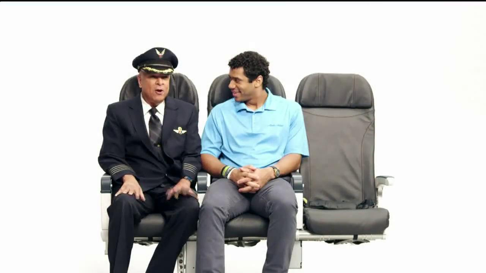 Alaska Airlines TV Spot, 'Chief Football Officer' Featuring Russell Wilson - Screenshot 1