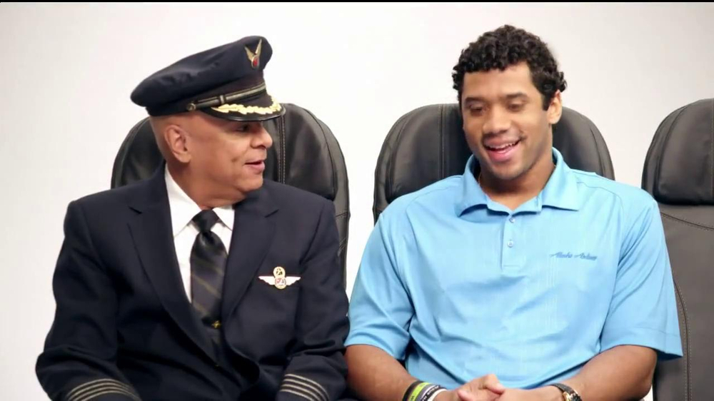Alaska Airlines TV Spot, 'Chief Football Officer' Featuring Russell Wilson - Screenshot 2