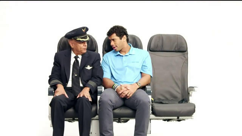 Alaska Airlines TV Spot, 'Chief Football Officer' Featuring Russell Wilson - Screenshot 3