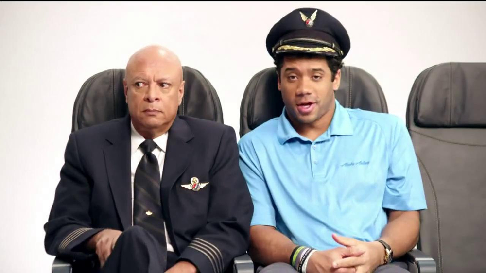 Alaska Airlines TV Spot, 'Chief Football Officer' Featuring Russell Wilson - Screenshot 4