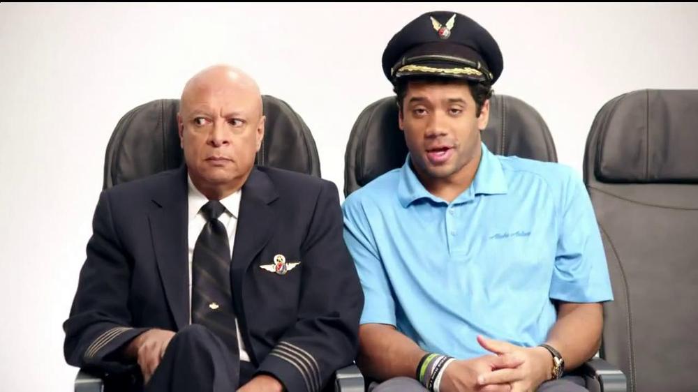 Alaska Airlines TV Spot, 'Chief Football Officer' Featuring Russell Wilson - Screenshot 4