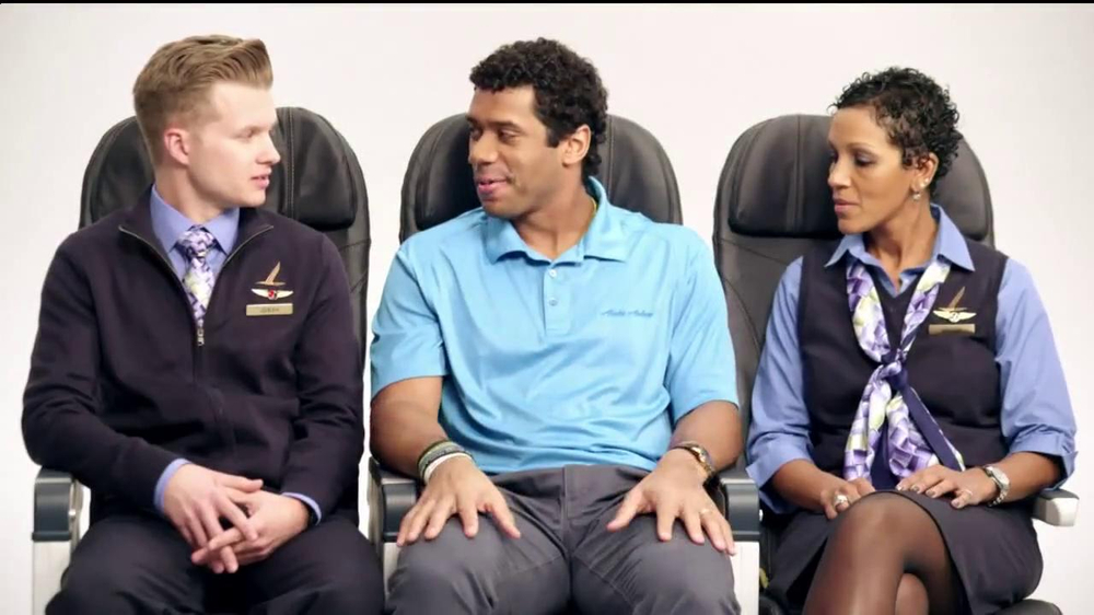 Alaska Airlines TV Spot, 'Chief Football Officer' Featuring Russell Wilson - Screenshot 5