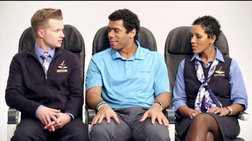 Alaska Airlines TV Spot, 'Chief Football Officer' Featuring Russell Wilson - Screenshot 5