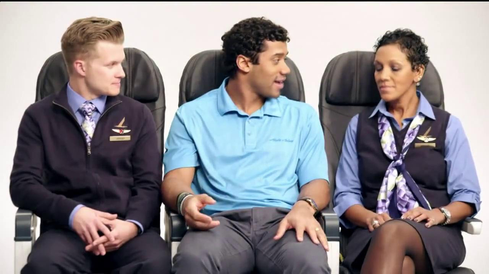 Alaska Airlines TV Spot, 'Chief Football Officer' Featuring Russell Wilson - Screenshot 6