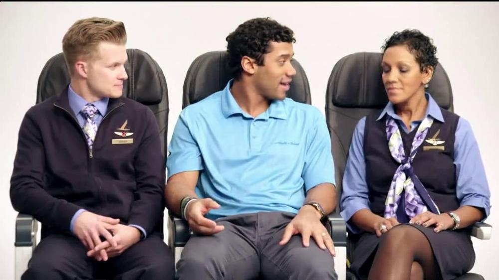 Alaska Airlines TV Spot, 'Chief Football Officer' Featuring Russell Wilson - Screenshot 6