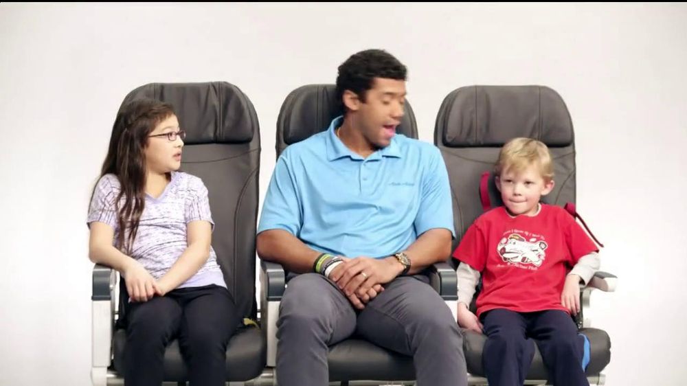 Alaska Airlines TV Spot, 'Chief Football Officer' Featuring Russell Wilson - Screenshot 7