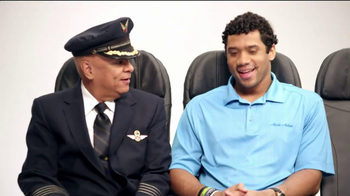 Alaska Airlines TV Spot, 'Chief Football Officer' Featuring Russell Wilson - Thumbnail 2