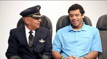 Alaska Airlines TV Spot, 'Chief Football Officer' Featuring Russell Wilson - Thumbnail 2