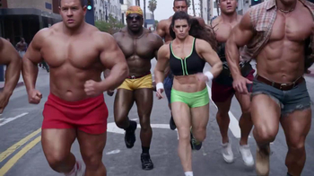 GoDaddySuper Bowl 2014 TV Spot, 'Bodybuilder' Featuring Danica Patrick