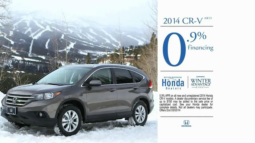 honda cr  tv commercial competitive edge ispottv