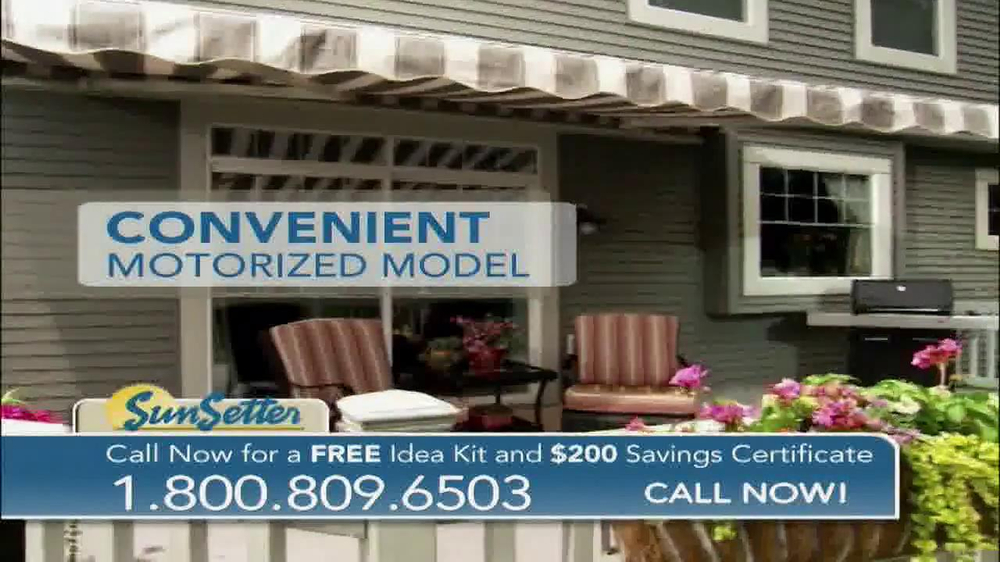 SunSetter TV Commercial, 'Too Hot' Featuring Joan Steffend ...