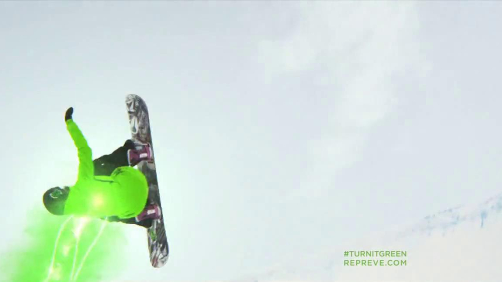 Repreve TV Spot, 'Turn It Green' Featuring Elena Hight - Screenshot 7