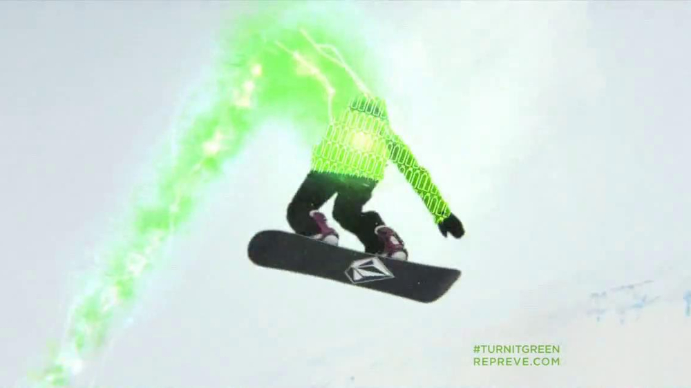 Repreve TV Spot, 'Turn It Green' Featuring Elena Hight - Screenshot 8