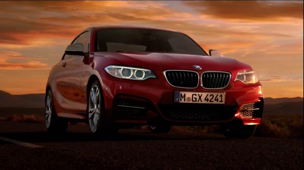 bmw 2 series tv commercial 39 showdown 39 song by findlay. Black Bedroom Furniture Sets. Home Design Ideas