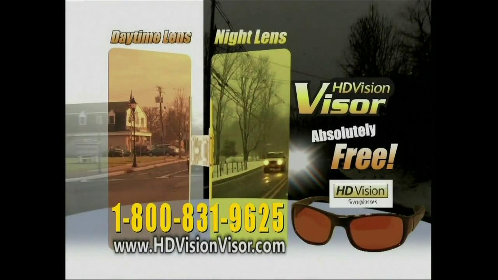 HD Vision Visor TV Spot, 'Beat the Sun' - Screenshot 10