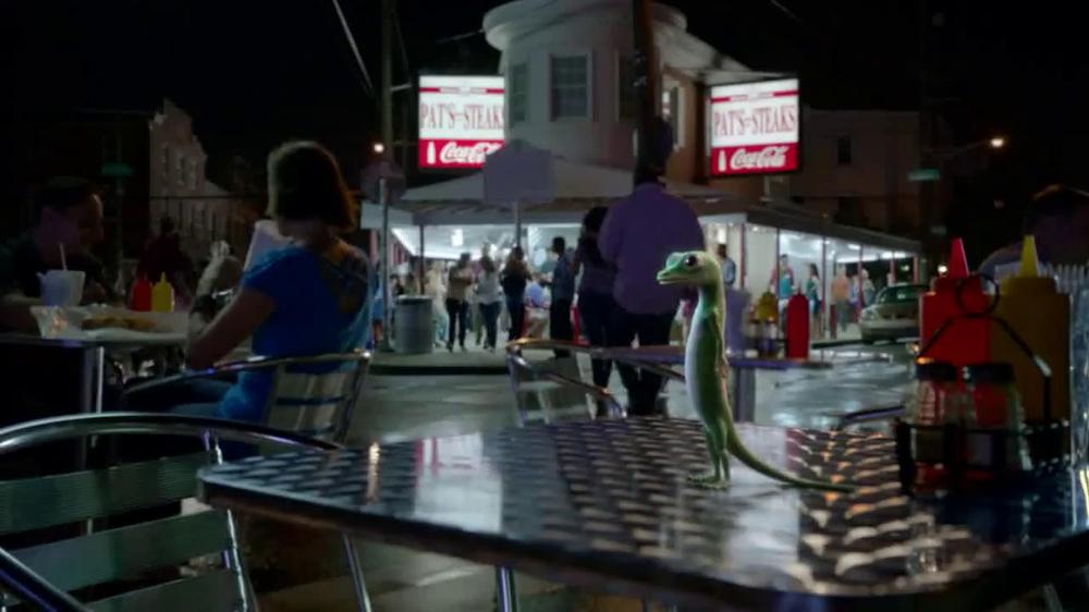 GEICO TV Spot, 'Philly Cheesesteak Shuffle' - Screenshot 1
