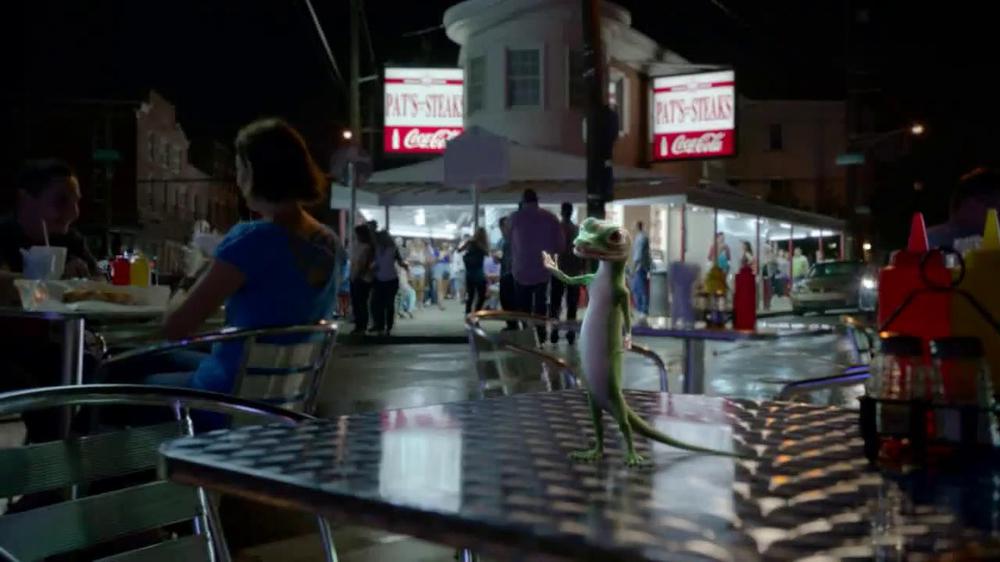 GEICO TV Spot, 'Philly Cheesesteak Shuffle' - Screenshot 2