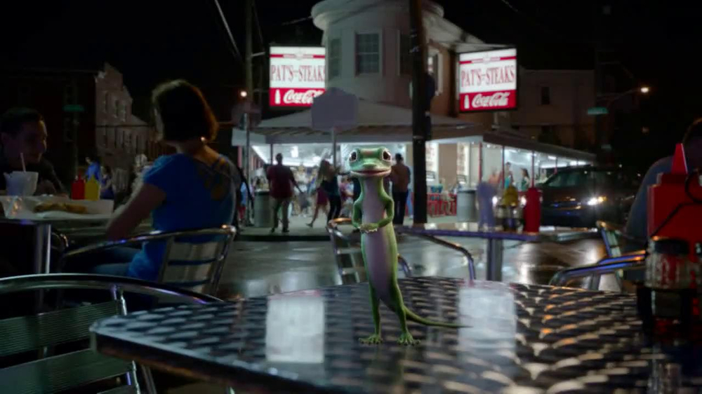 GEICO TV Spot, 'Philly Cheesesteak Shuffle' - Screenshot 3