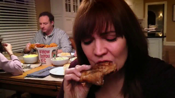 KFC Family Feast TV Spot, 'A Real Family Dinner' - Thumbnail 9