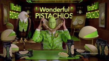 Wonderful Pistachios Super Bowl 2014 TV Spot, 'Branding' Ft Stephen Colbert