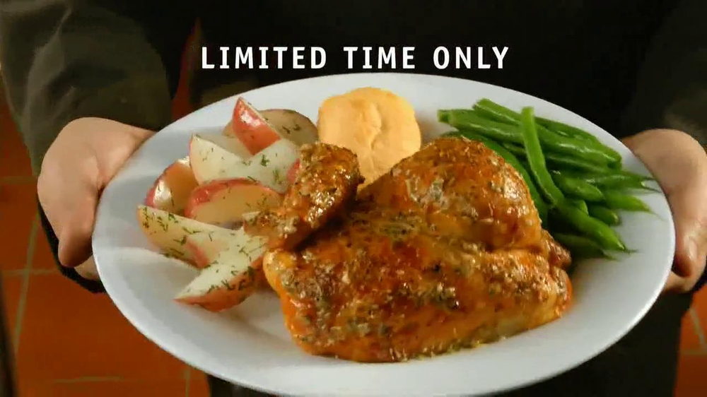 Boston Market  Parmesan Tuscan Rotisserie Chicken TV Spot - Screenshot 10