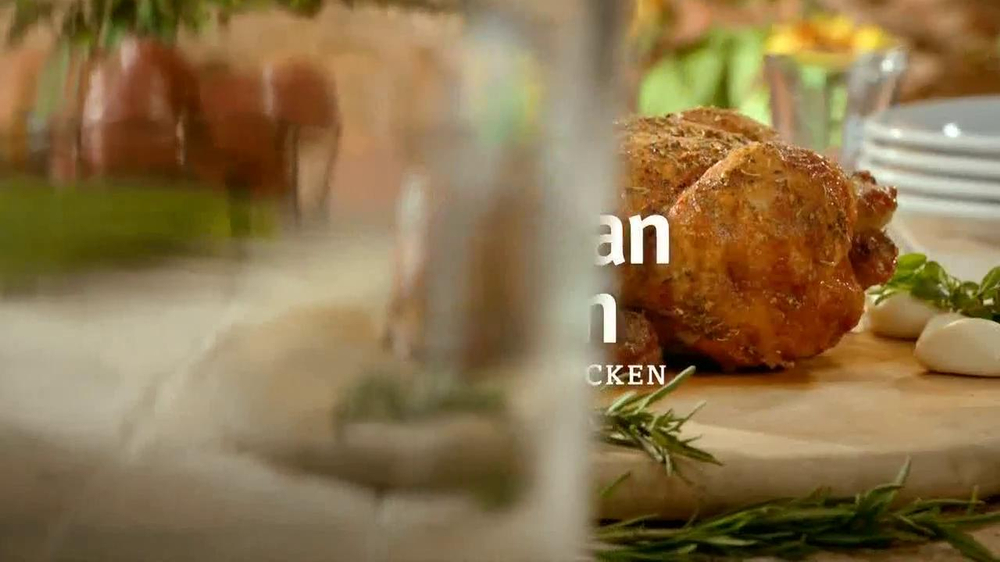 Boston Market  Parmesan Tuscan Rotisserie Chicken TV Spot - Screenshot 4