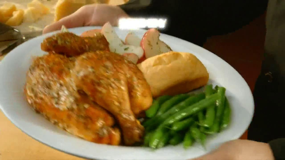 Boston Market  Parmesan Tuscan Rotisserie Chicken TV Spot - Screenshot 9