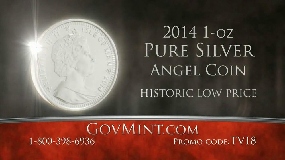GovMint.com TV Spot, 'Angel Coin' - Screenshot 7