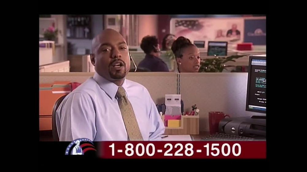 Colonial Penn TV Spot, 'Cubicles' Featuring Alex Trebek - Screenshot 9