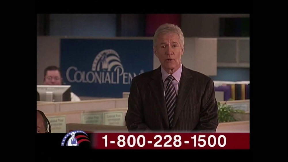 Colonial Penn TV Spot, 'Cubicles' Featuring Alex Trebek - Screenshot 3
