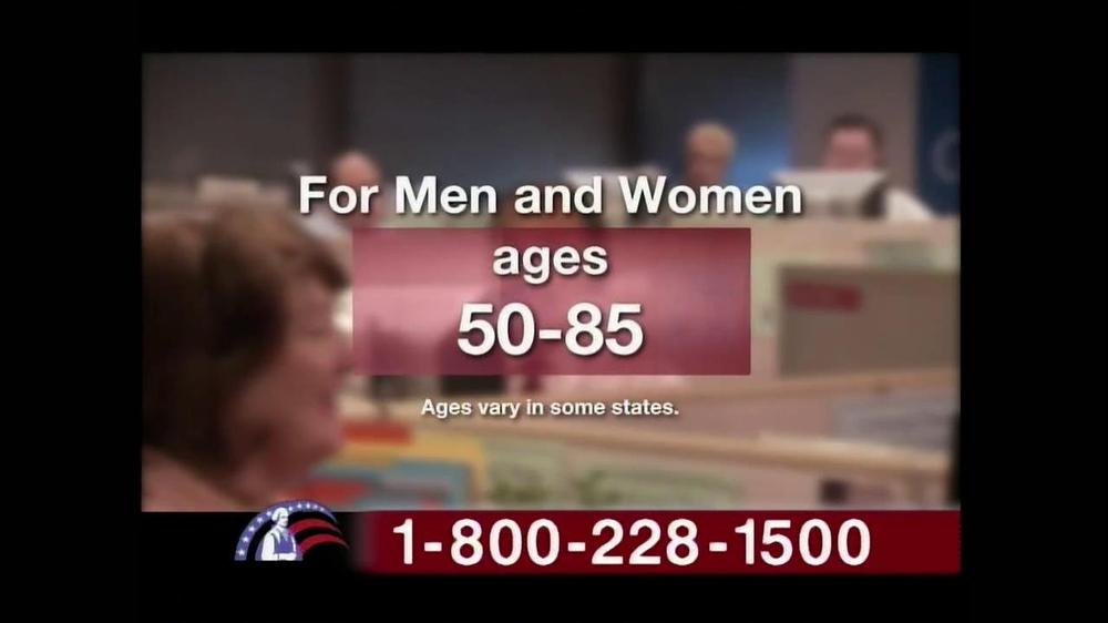 Colonial Penn TV Spot, 'Cubicles' Featuring Alex Trebek - Screenshot 4