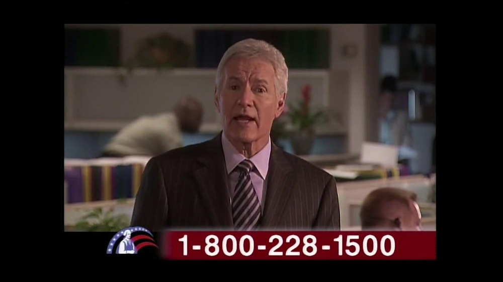Colonial Penn TV Spot, 'Cubicles' Featuring Alex Trebek - Screenshot 5