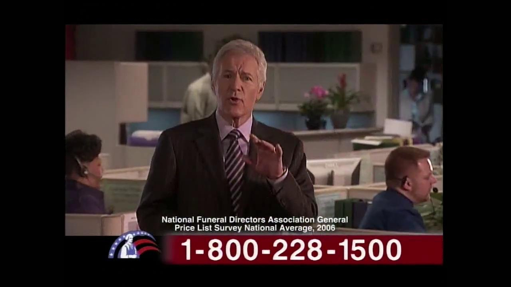 Colonial Penn TV Spot, 'Cubicles' Featuring Alex Trebek - Screenshot 6