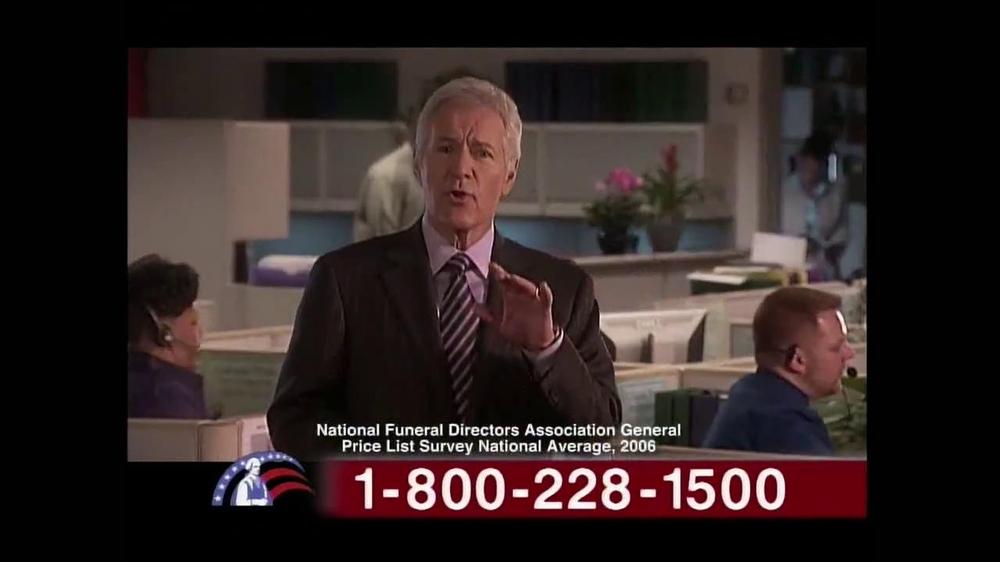 Colonial Penn TV Spot, 'Cubicles' Featuring Alex Trebek - Screenshot 6