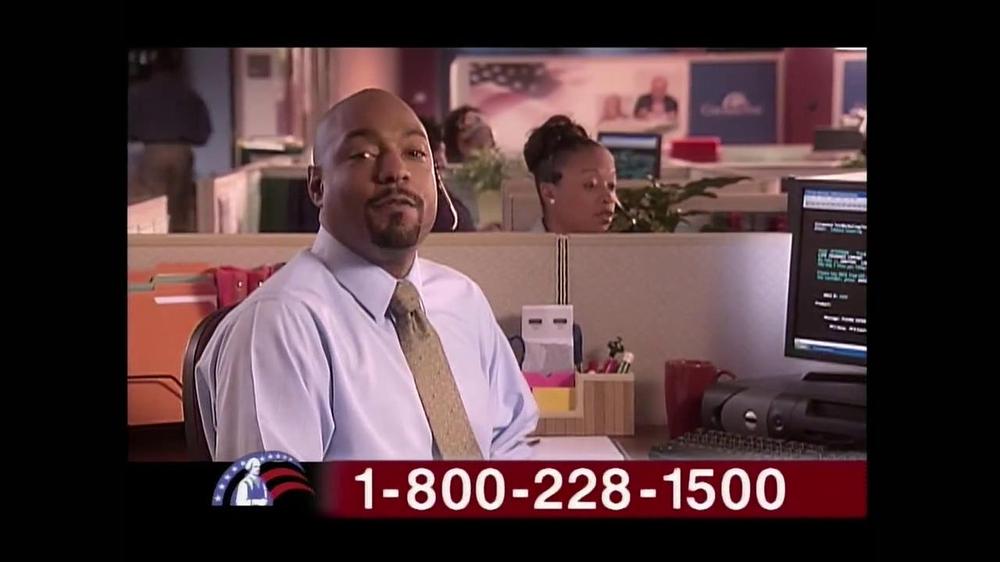 Colonial Penn TV Spot, 'Cubicles' Featuring Alex Trebek - Screenshot 8