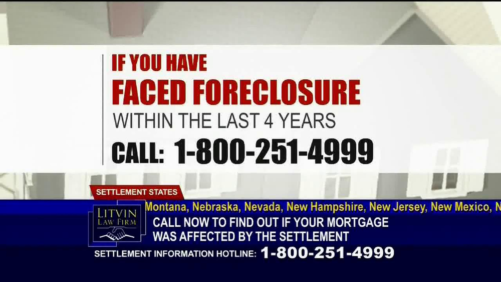 Litvin Law Firm TV Spot, 'Disqualified Mortgages' - Screenshot 3