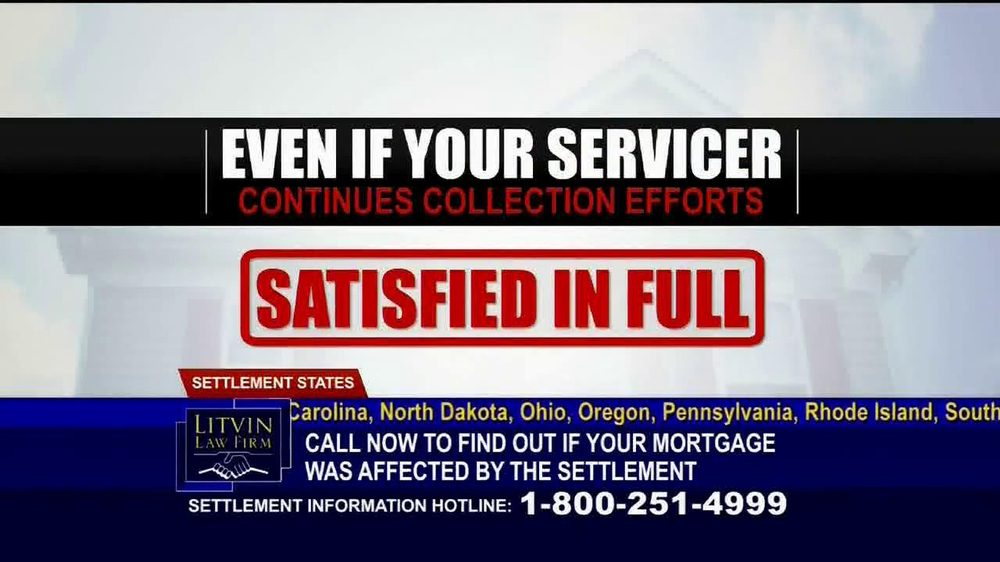 Litvin Law Firm TV Spot, 'Disqualified Mortgages' - Screenshot 4