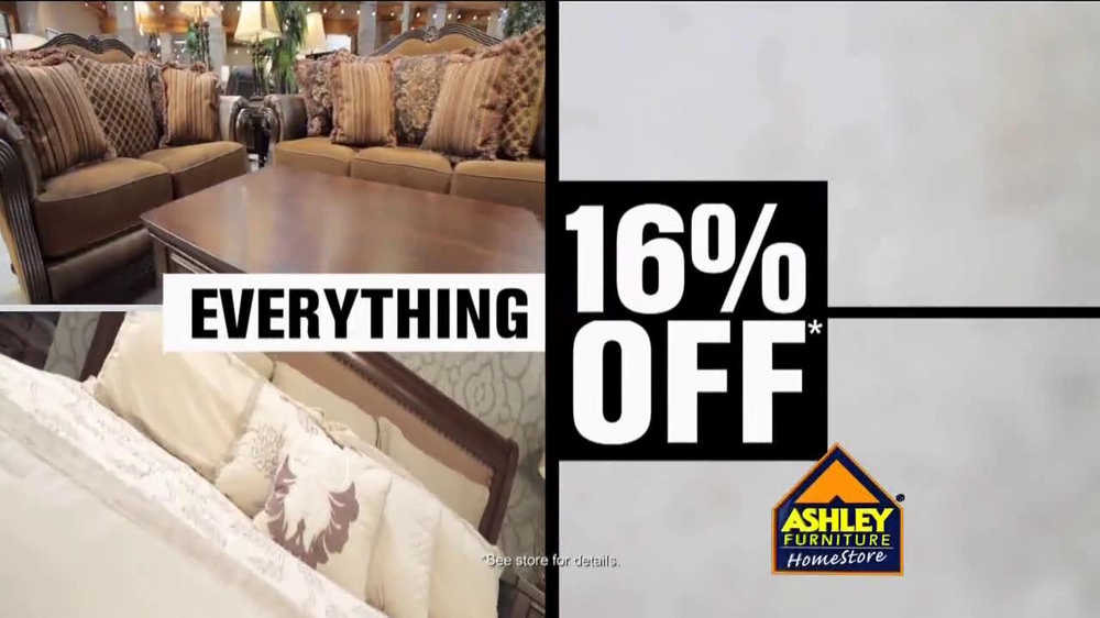 Ashley Furniture Homestore Tv Commercial 39 16 Off 39