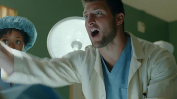T-Mobile Super Bowl 2014 TV Spot, 'Doctor' Featuring Tim Tebow