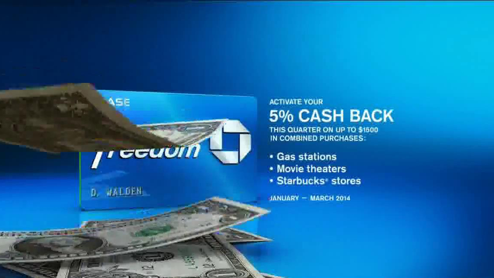 Chase Freedom Card TV Spot, 'At the Pumps' - Screenshot 9