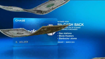Chase Freedom Card TV Spot, 'At the Pumps' - Thumbnail 8