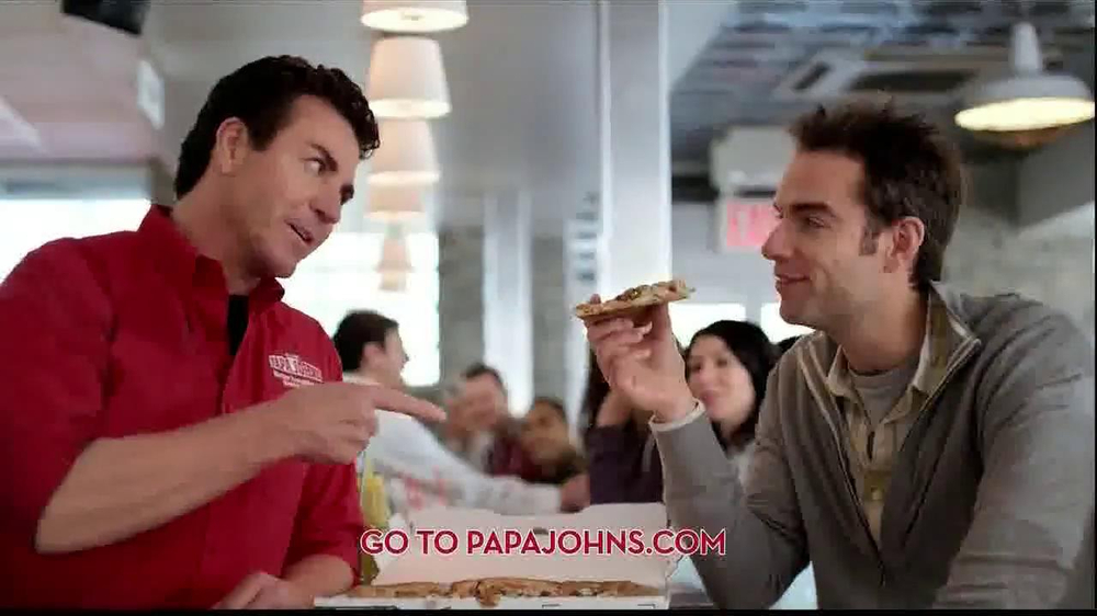 Papa John's Double Cheeseburger Pizza TV Spot - Screenshot 8