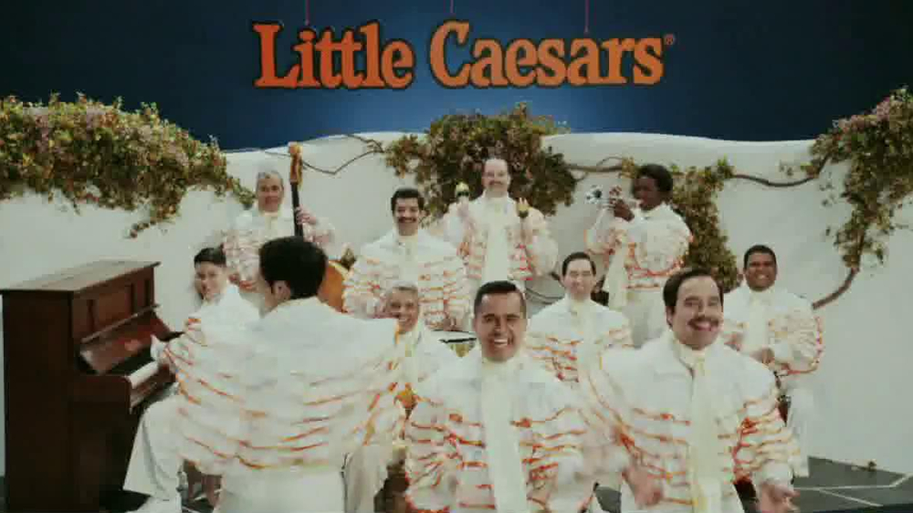 Little Caesars Pizza TV Spot, 'Deep Dish Combo Mambo' - Screenshot 8