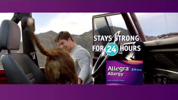 Allegra Allergy TV Spot, 'Brakes' thumbnail