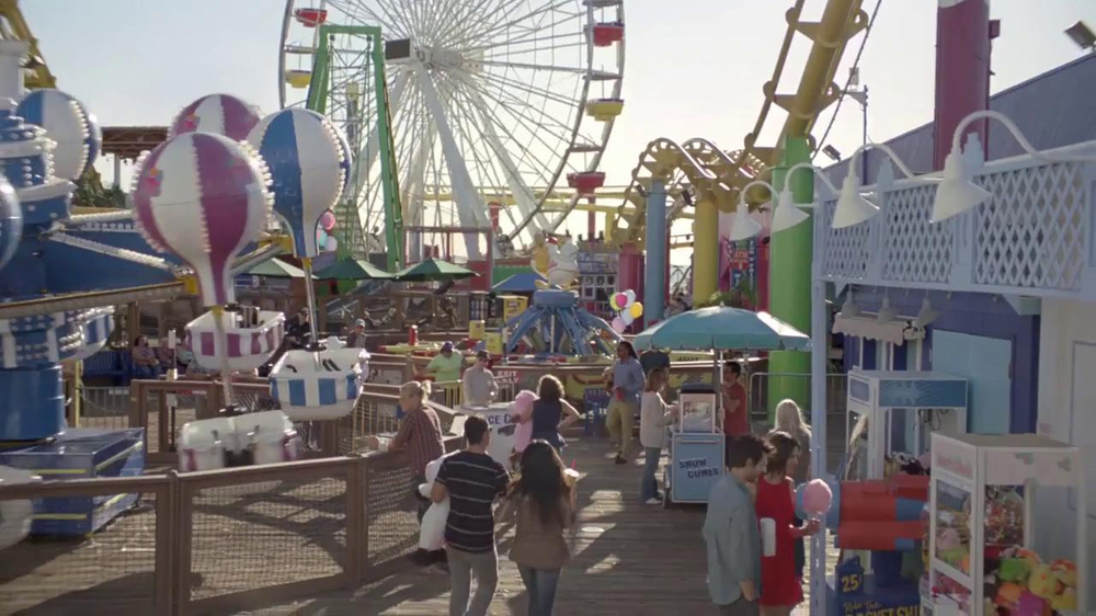 Old Spice Hair Care Super Bowl 2014 TV Spot, 'Boardwalk' - Screenshot 1