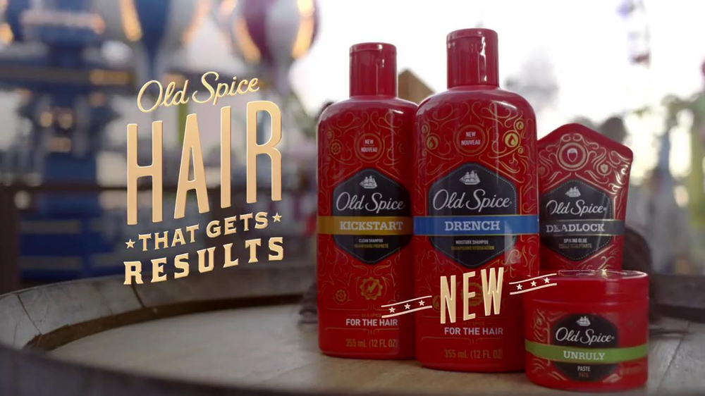 Old Spice Hair Care Super Bowl 2014 TV Spot, 'Boardwalk' - Screenshot 10