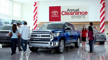 Toyota Annual Clearance Event TV Spot, 'Great Story' - 7 commercial airings